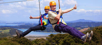 Waiheke Island Ecozip Adventures Zip Line Tour Thumbnail 2