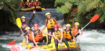 Kaituna River Grade 5 White Water Rafting Thumbnail 4