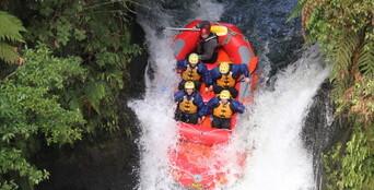 Kaituna River Grade 5 White Water Rafting Thumbnail 1
