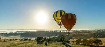 60 Minute Hot Air Balloon Flight Over Ipswich Thumbnail 3