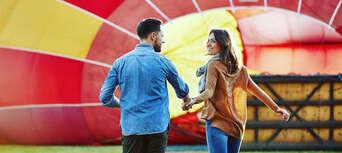 60 Minute Hot Air Balloon Flight Over Ipswich Thumbnail 4