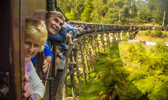 Puffing Billy and Dandenongs Half Day Tour Thumbnail 2