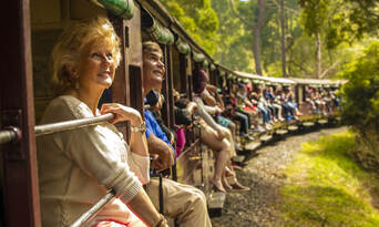 Puffing Billy and Healesville Wildlife Sanctuary Day Tour Thumbnail 1