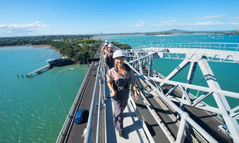 Auckland Harbour Bridge Climb Thumbnail 2