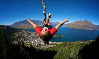 The Ledge Swing in Queenstown Thumbnail 6