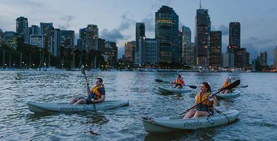 Brisbane Friday Night Kayak