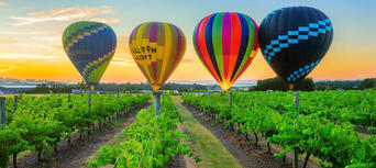 Hunter Valley 1-hour Hot Air Balloon Flight Thumbnail 5