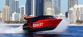 Gold Coast Ocean Jet Boat Ride + Helicopter Flight Thumbnail 3