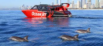 Gold Coast Ocean Jet Boat Ride + Helicopter Flight Thumbnail 5