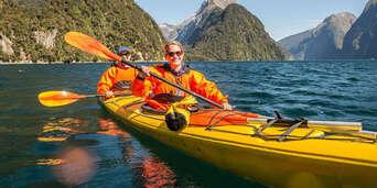 Milford Sound Kayaking Tour Thumbnail 3