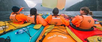 Milford Sound Kayaking Tour Thumbnail 4