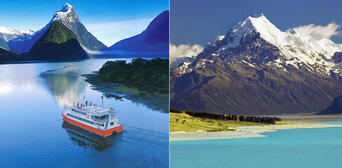 Milford Sound and Mt Cook Combo departing Queenstown Thumbnail 1
