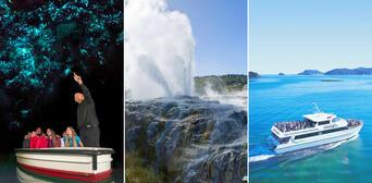 Bay of Islands with Rotorua and Waitomo Combo Thumbnail 1
