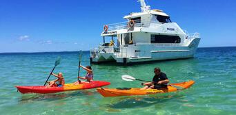 Half Day Fraser Island Beach and BBQ Cruise Thumbnail 2
