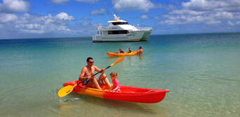 Half Day Fraser Island Beach and BBQ Cruise Thumbnail 1