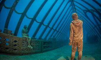 Museum Of Underwater Art And Great Barrier Reef Diving Day Trip Thumbnail 1