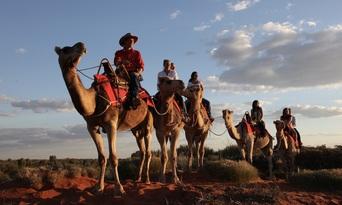 Uluru Sunrise Camel Ride Tour Thumbnail 2