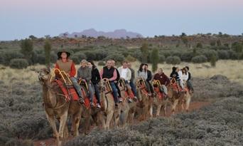 Uluru Sunset Camel Ride Tour Thumbnail 2