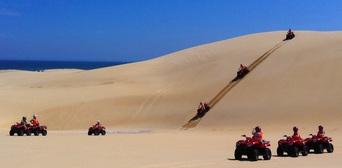 Quad Bike Aboriginal Culture and Sand Boarding Tour Thumbnail 6