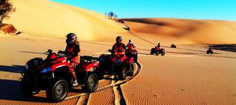 Quad Bike Aboriginal Culture and Sand Boarding Tour Thumbnail 2