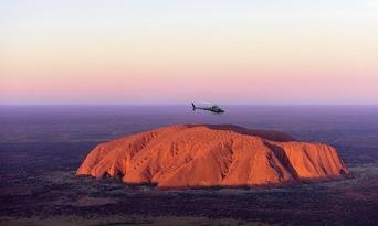 25 Minute Uluru and Kata Tjuta Helicopter Flight Thumbnail 1