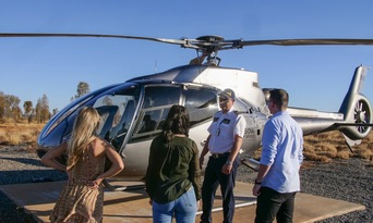 25 Minute Uluru and Kata Tjuta Helicopter Flight Thumbnail 3