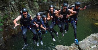 South Coast Canyoning - Rainforest Canyon Thumbnail 2