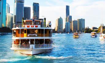 Brisbane Buffet Lunch Cruise - Weekdays Thumbnail 1