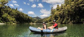 Hobbit Kayaking Tour on Pelorus River Thumbnail 1