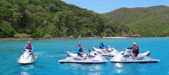 1.5 Hour Jet Ski Guided Tour from Airlie Beach Thumbnail 2
