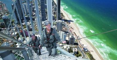 1120am SkyPoint Climb