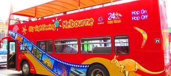 Melbourne Hop on Hop off Tour & Melbourne Aquarium Thumbnail 4