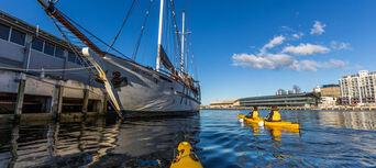 Hobart City Kayaking Half Day Tour Thumbnail 2