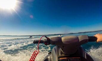 Fraser Island 2.5 Hour Scenic Jetski Tour Thumbnail 1