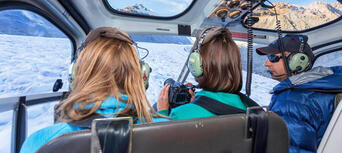 Tasman Glacier Heli Hike from Mount Cook Thumbnail 2