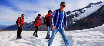 Tasman Glacier Heli Hike from Mount Cook Thumbnail 3