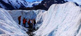 Tasman Glacier Heli Hike from Mount Cook Thumbnail 5