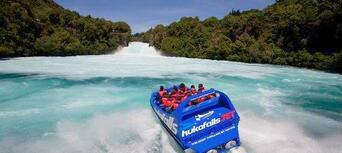 Taupo Cruise Helicopter and Jet Boating Combo Thumbnail 4