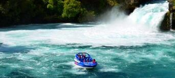 Taupo Cruise Helicopter and Jet Boating Combo Thumbnail 5