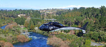 Taupo Cruise Helicopter and Jet Boating Combo Thumbnail 6