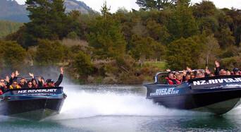 35 Minute Waikato River Jet Boating Experience Thumbnail 1