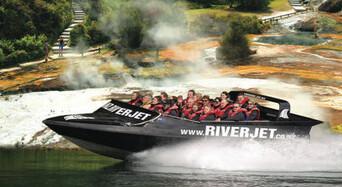 Half Day Waikato River Jet Boating Tour Thumbnail 1