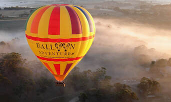 Barossa Valley Hot Air Balloon Flight with Breakfast Thumbnail 1