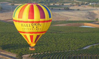 Barossa Valley Hot Air Balloon Flight with Breakfast Thumbnail 3