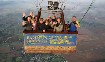 Barossa Valley Hot Air Balloon Flight with Breakfast Thumbnail 5