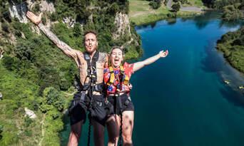 Taupo Bungy Jumping Experience Thumbnail 4