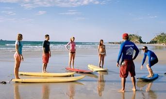 90 Minute Private Surf Lesson Thumbnail 3