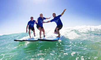 120 Minute Group Surf Lesson in Byron Bay Thumbnail 5