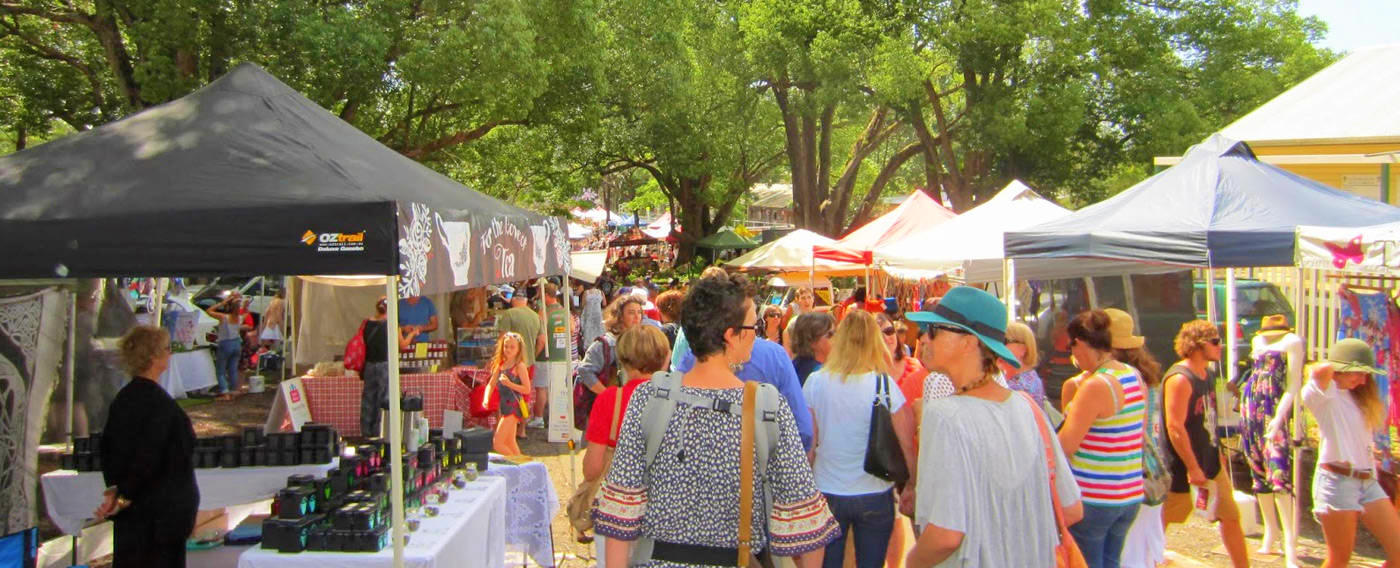 Free Things To Do  Bangalow Market Byron Bay