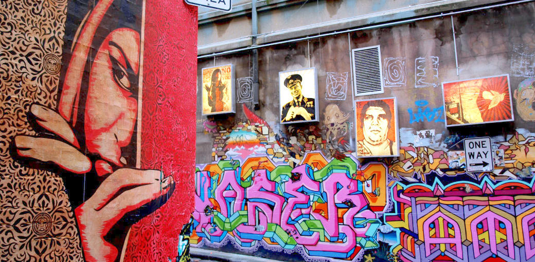 Free Things To Do  Hosier Lane Street Art